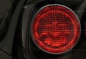 Close-up di lampada auto — Foto Stock