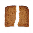 Slices of whole wheat bread — Stock Photo #5302065