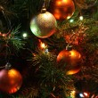 Stock Photo: Christmas Tree With Balls