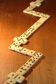 Dominoes Game — Stock Photo
