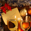 A Toast To Christmas — Stock Photo