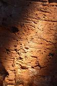 Bir tuğla üzerinde ışık ışını — Stok fotoğraf