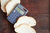 Bread Price — Stock Photo