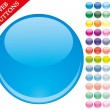 49 colored buttons — Stock Vector