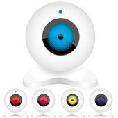 Webcam3 — Stock Vector