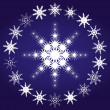 Snowflakes, part 3 — Stock Vector