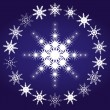 Stock Vector: Snowflakes, part 3