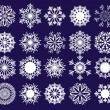 Snowflakes, part 2 — Stock Vector
