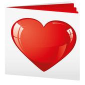 Love brochure — 图库矢量图片