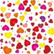 Valentine seamless pattern — Stock Vector