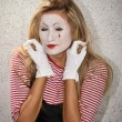 Stock Photo: Mime