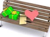 Letter_bench — Stock Photo