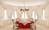 Un comedor interior clásico — Foto de Stock