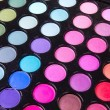 Multicolour makeup eyeshadows palette — Stock Photo #4446009