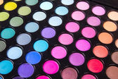 Tavolozza di ombretti trucco multicolor — Foto Stock