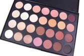 Neutral make-up eyeshadows palette — Stock Photo