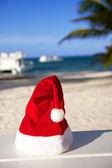 Summer beach christmas — Stock Photo