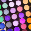 Stock Photo: Professional multicolour eyeshadows palette