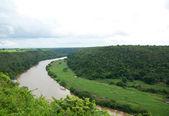 熱帯川チャボン、カーサ ダ カンポ — ストック写真