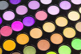 Professionele multicolor eyeshadows palet — Stockfoto