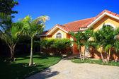 Private house, Dominican Republic — Stock Photo