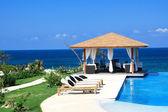 Luxury summerhouse — Stock Photo
