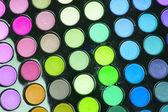 Tavolozza ombretti multicolor professionale — Foto Stock
