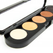 Stock Photo: Professional eyeshadows palettes