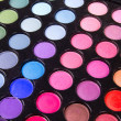 Multicolour make-up eyeshadows palette — Stock Photo #4769356