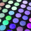 Multicolour make-up eyeshadows palette - Stockfoto