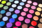 Multicolour make-up eyeshadows palette — Stock Photo