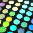 Multicolour make-up eyeshadows palette - Foto de Stock