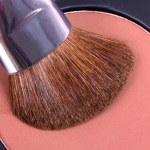 профессиональный макияж кисти на палитре корректор — Стоковое фото #4771237