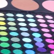 Professional make-up eyeshadows and corrector palettes — Foto de stock #4771256