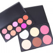Stock Photo: Two eyeshadows palettes
