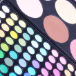 图库照片: Different eyeshadows palettes