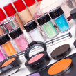 Foto Stock: Professional make-up tools