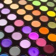 Multicolour eyeshadows palette - Stock Photo