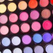 Make-up eyeshadows - Stockfoto