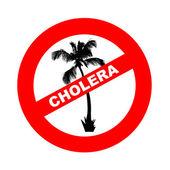 Cholera epidemic in Hispaniola — Stock Photo