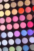Make-up eyeshadows — Stock fotografie