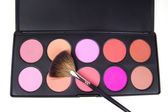 Professional make-up brush — Stockfoto