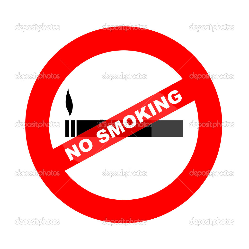 No smoking illustration — Stock Photo © pashapixel #4771311