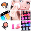 make-up collage — Stockfoto #4899529