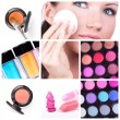 Make-up collage — Stock Photo #4899529