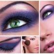 Smoky eyes collage — Stock Photo #4899568