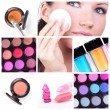 Make-up collage — Stock Photo #4917446
