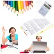 Education collage — Stock Photo #4917535