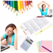 Education collage — Stock Photo #4917537