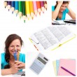 Education collage — Stock Photo #4917538
